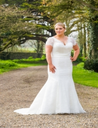 Plus size wedding dresses by Special Day BB17 501