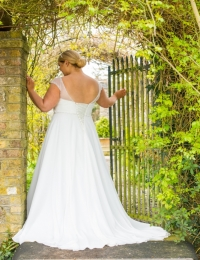 Plus size wedding dresses by Special Day BB17 510 BACK