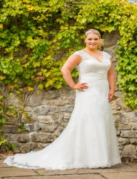 Plus size wedding dresses by Special Day BB17 513