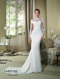 Wedding dress by Cabotine 5007666 Dedalera size 12UK Ivory