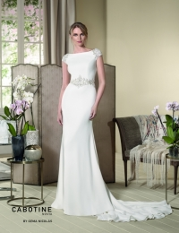 Wedding dress by Cabotine 5007679a Grosella size 14UK Ivory