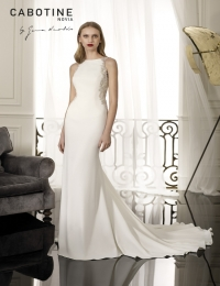 Wedding dress by Cabotine 5008134 Amiens size 14UK Ivory