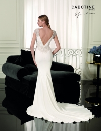 Wedding dress by Cabotine 5008135 Angers back size 14UK Ivory