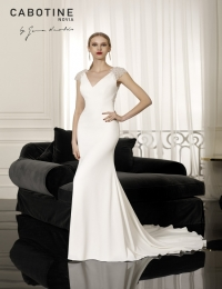 Wedding dress by Cabotine 5008135 Angers size 14UK Ivory