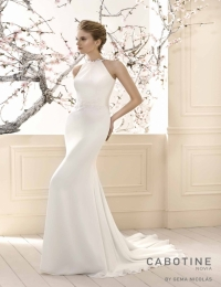 Wedding dress by Cabotine 5008136 Begur size 14UK Ivory