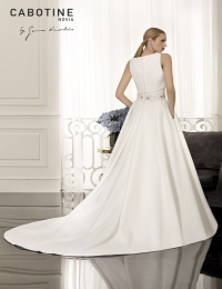 Wedding dress by Cabotine 5008142 Bayona back size 12UK Ivory