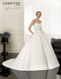Wedding dress by Cabotine 5008142 Bayona without top size 12UK Ivory