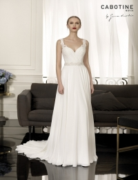 Wedding dress by Cabotine 5008151 Carcasona size 14UK Ivory