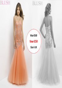 blush prom 9754 Mango colour