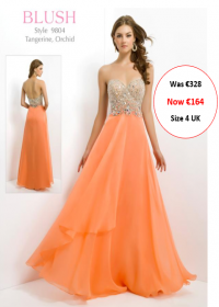 blush prom 9804 tangerine colour