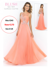 blush prom 9929 Coral Pink colour