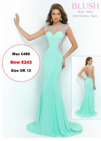 blush prom 9942 Mint Green colour