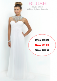 blush prom 9952 White colour