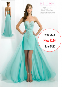 blush prom X137 Mint colour