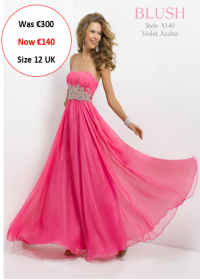 blush prom X140 Azalea colour