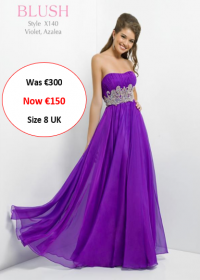 blush prom X140 Violet colour