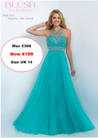blush prom X311 Jade colour