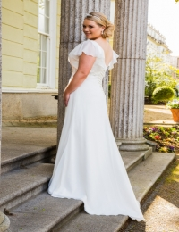 Plus size wedding dresses by Special Day BB16306 BACK