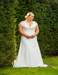 Plus size wedding dresses by Special Day BB17 508