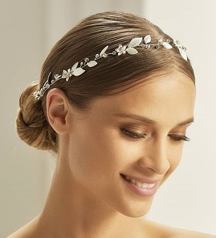 Bianco Evento Headpiece 2706