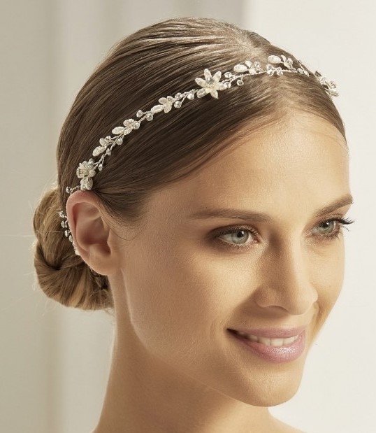 Bianco Evento Headpiece 2904